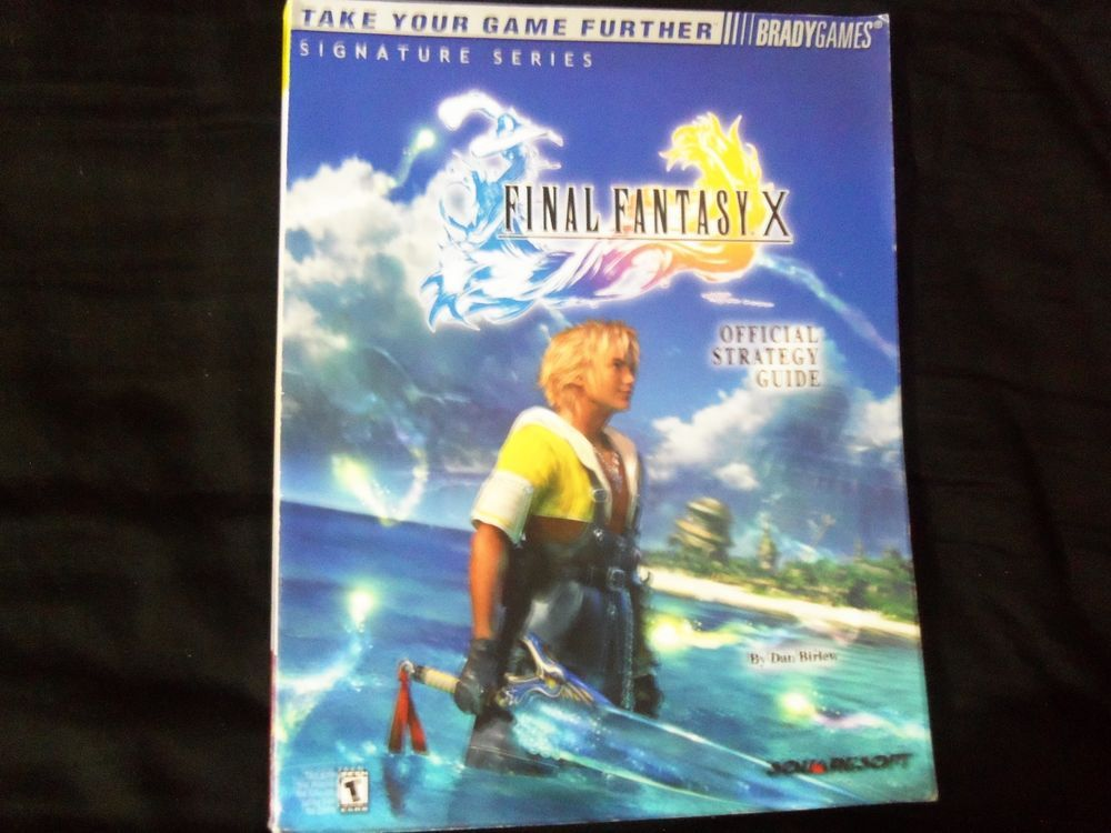 Final Fantasy X Strategy Guide (no poster)