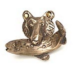 Rosalie Sherman Designs Bronze Bruno Bear Robe or Coat Hook