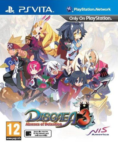 Disgaea 3 Absence of Detention PS Vita UK UK Account required for - absence note