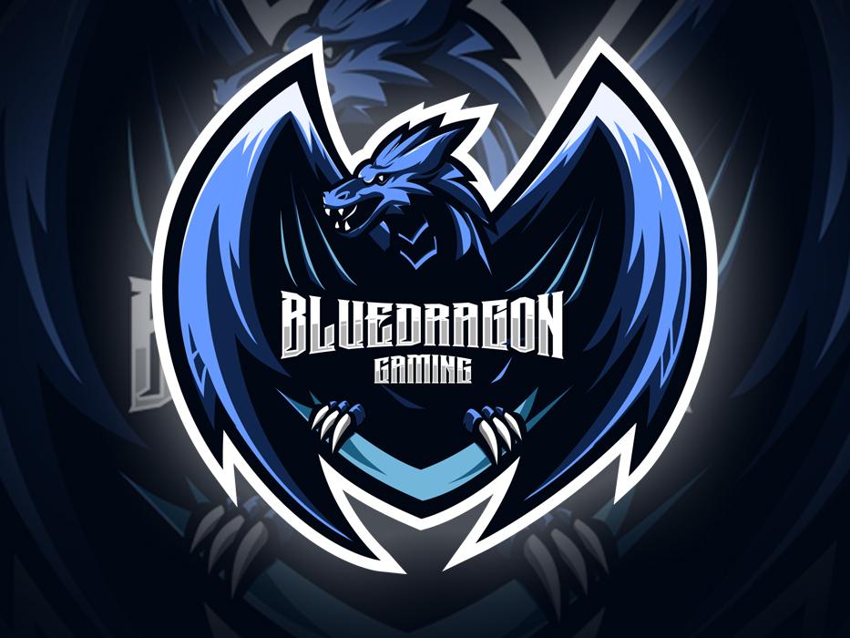 Blue Dragon Logo Dragon Blue Dragon Mascot