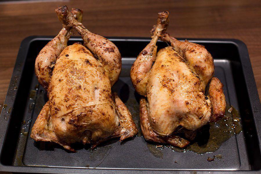 Chicken Gasgrill : Hähnchen am spieß vom gasgrill rezept outdoorküche grilling