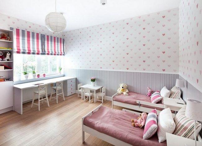 Tapete Streifen Grau Rosa Lullaby In 2021 Baby Zimmer Grau Zimmer Madchen Madchenzimmer