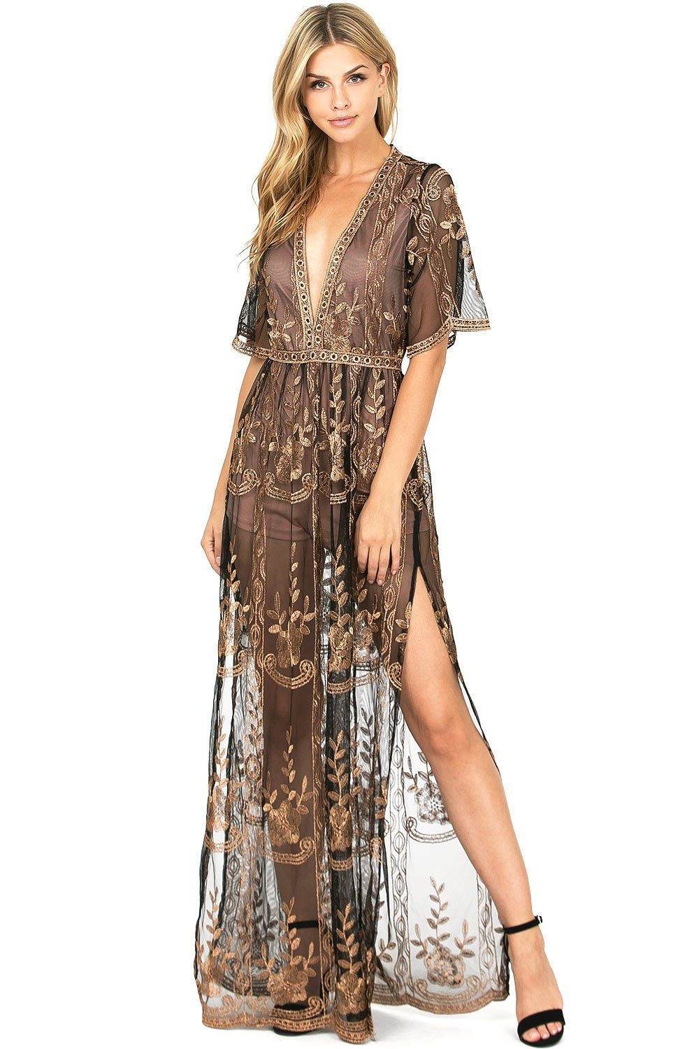 5eb4effc5db Love Spell Maxi Dress – Pink Ice