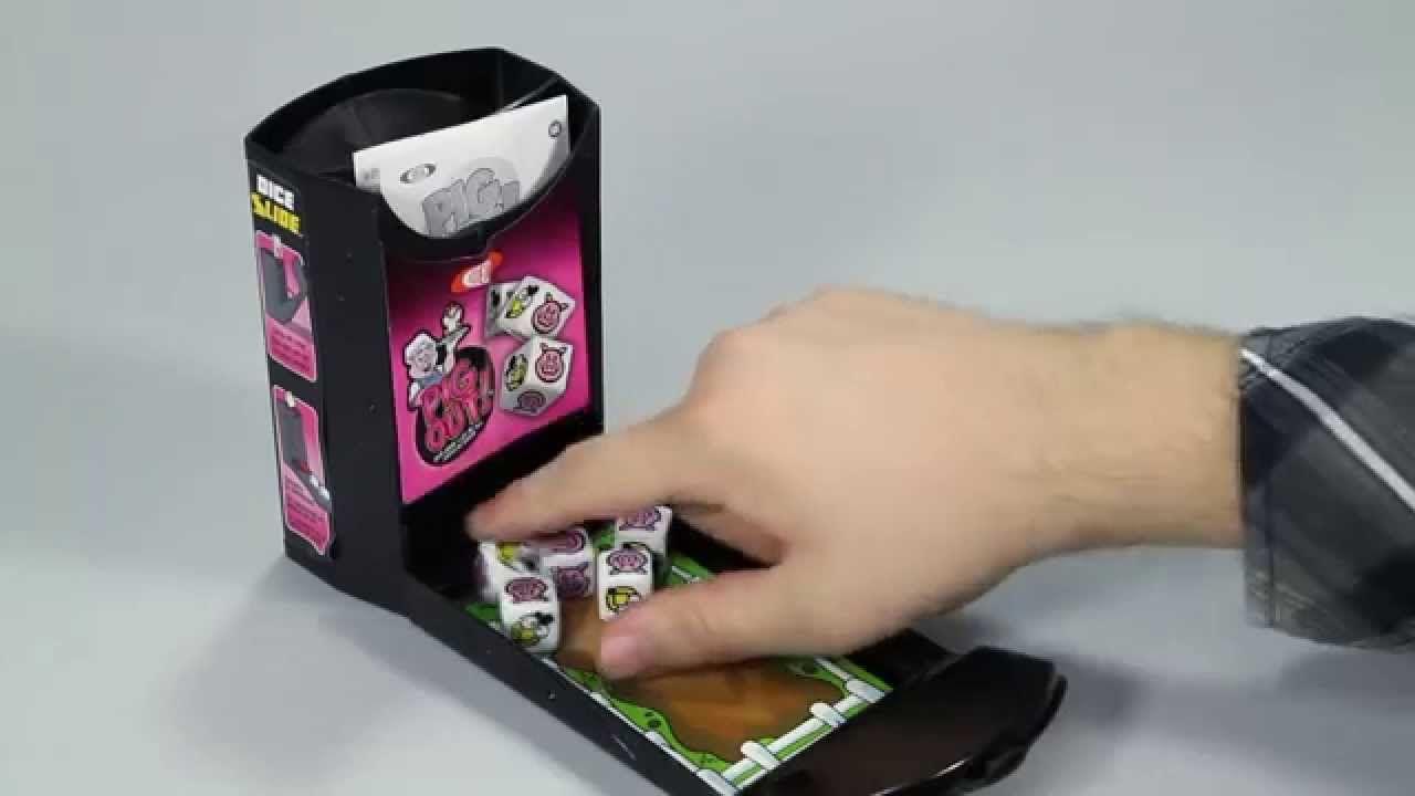 Ideal Pig Out Dice Slide Game 0X2750TL Slide games