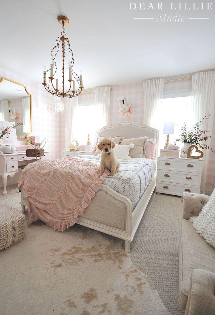 A Few Seasonal Touches To Lillie's Fall Room - Dear Lillie Studio