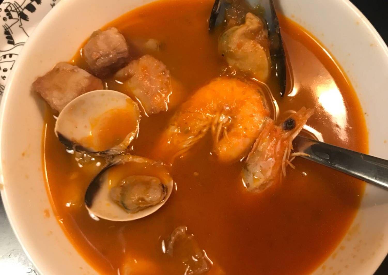 Sopa De Pescado Facil Con Preparado Congelado Receta Sopa De