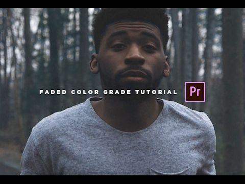 Vintage X2f Faded Color Grade Tutorial Adobe Premiere Pro Cc Youtube Adobe Premiere Pro Premiere Pro Tutorials Premiere Pro