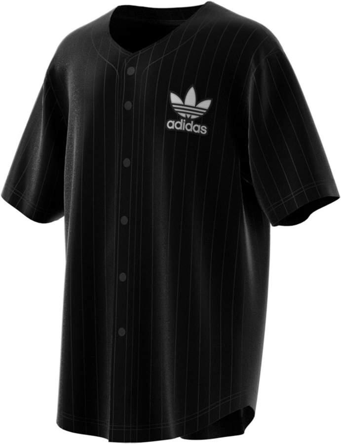 adidas Men Jacquard Baseball Jersey | Adidas men, Baseball jersey ...