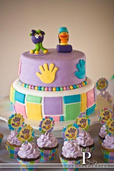 HI Five5th Birthday Cake