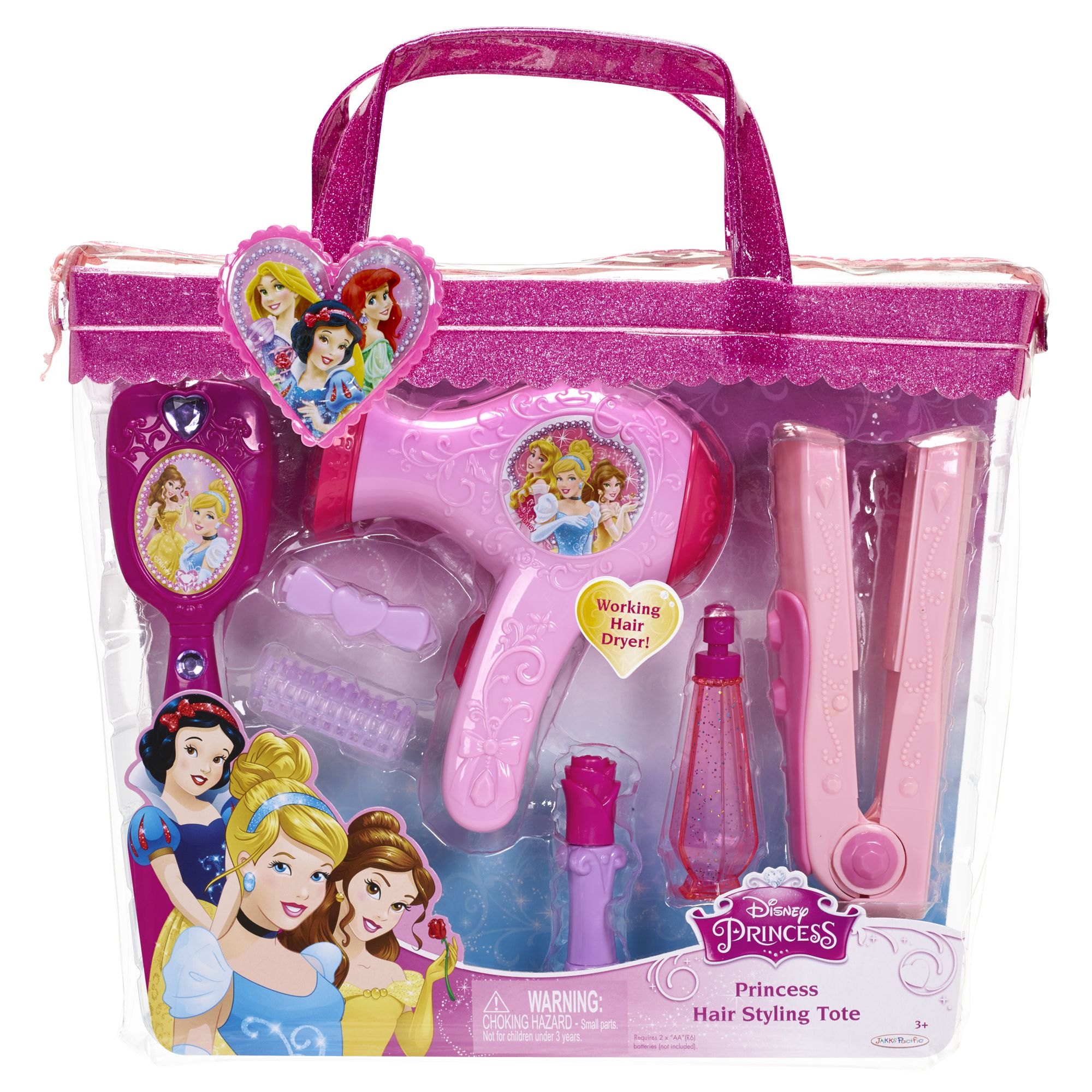 Hair Styling Tote Disney Princess In 2020 Princess Hairstyles Barbie Gifts Diy Barbie Clothes