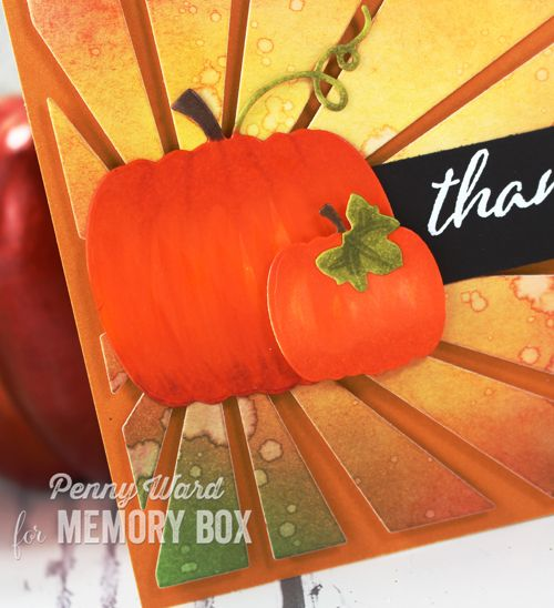 Penny Ward INK: Harvest Thanks with Memory Box