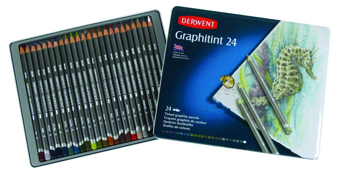 Graphitint Pencil Tutorial Best Watercolor Pencils Graphite