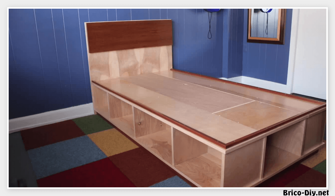 Vídeo como hacer una cama fácil de hacer | Web del Bricolaje Diy ...