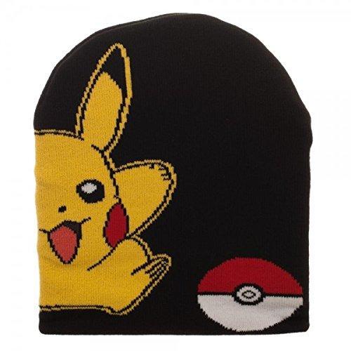 c651ddbd3b3 Pokemon Pikachu Beanie by BioWorld