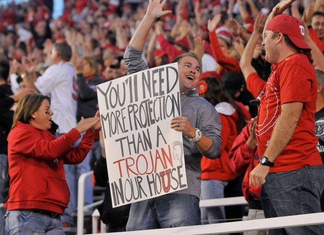 Mighty Utes Student Section Football Game Signs Utah Utes High School Life