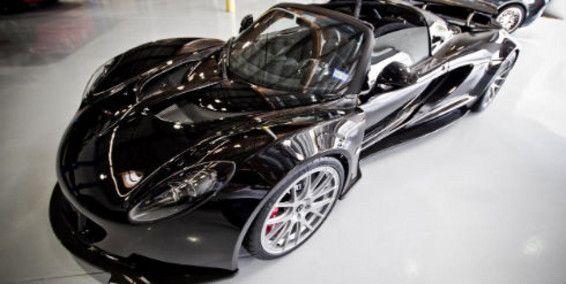 Hennessey Venom GT Spyder de Steven Tyler 1.200 HP
