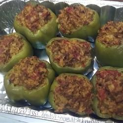 Baked Stuffed Peppers Recipe Peppers Recipes Stuffed Peppers Baked Stuffed Peppers