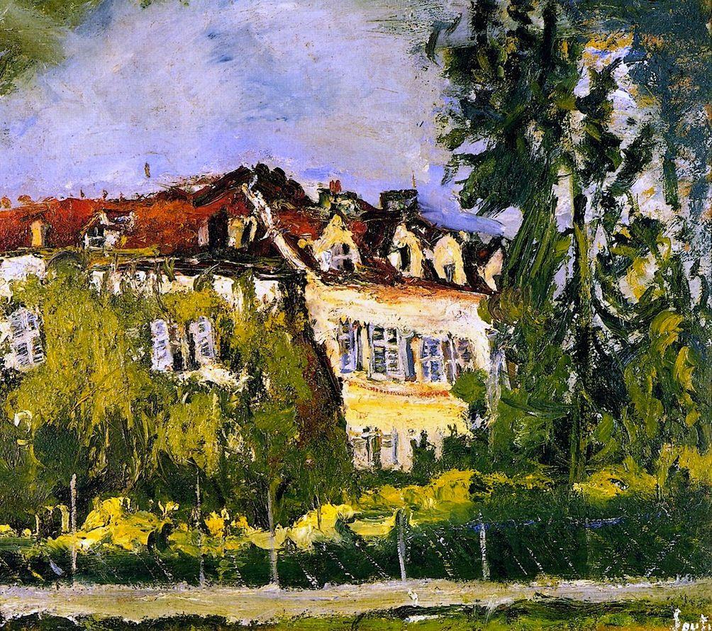 Landscape with House Chaim Soutine - circa 1934