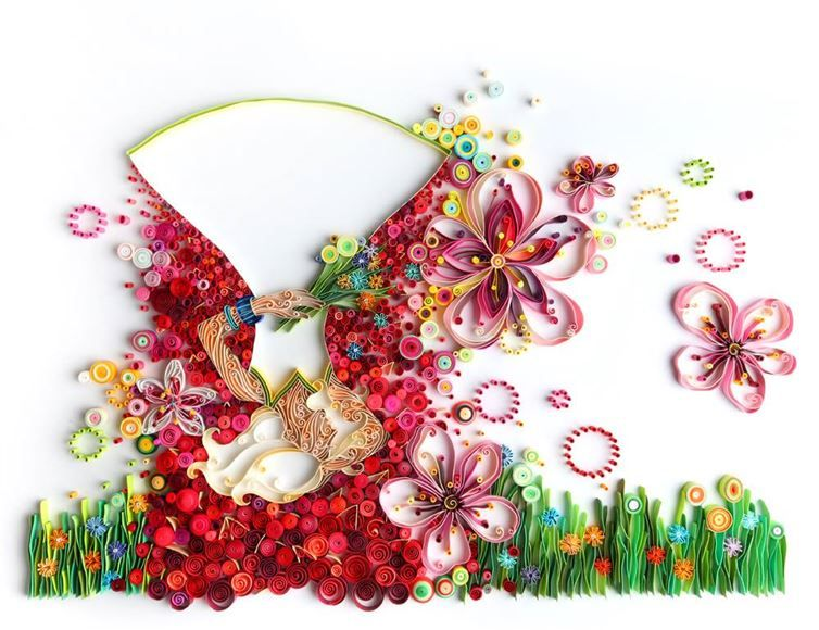 This Artist Creates Striking Works Using An Impressive Paper Quilling Technique  31 - https://www.facebook.com/diplyofficial