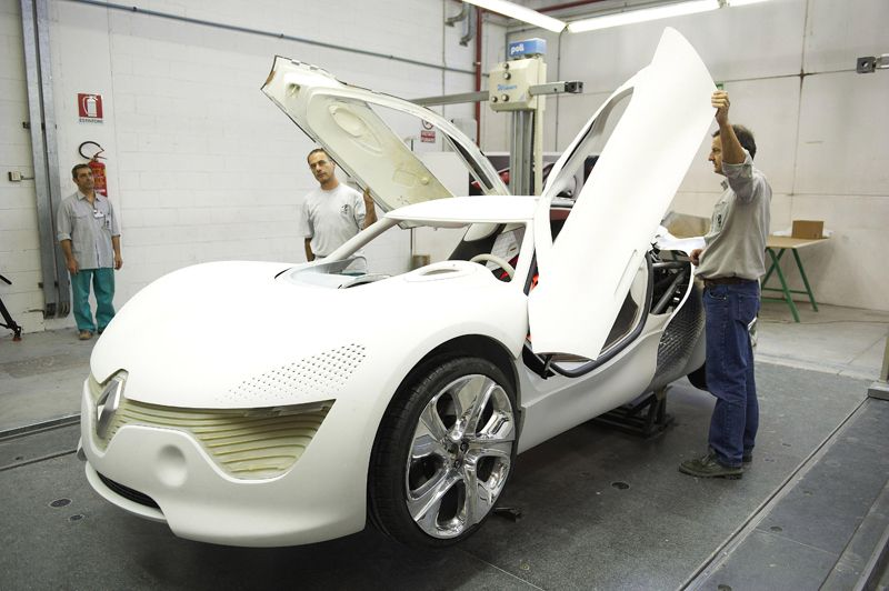 Renault DeZir Concept - picture and video gallery