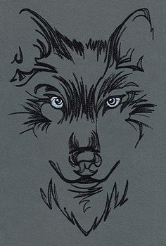 Timberwolves Embroidery Designs Wolves Urban Threads Unique
