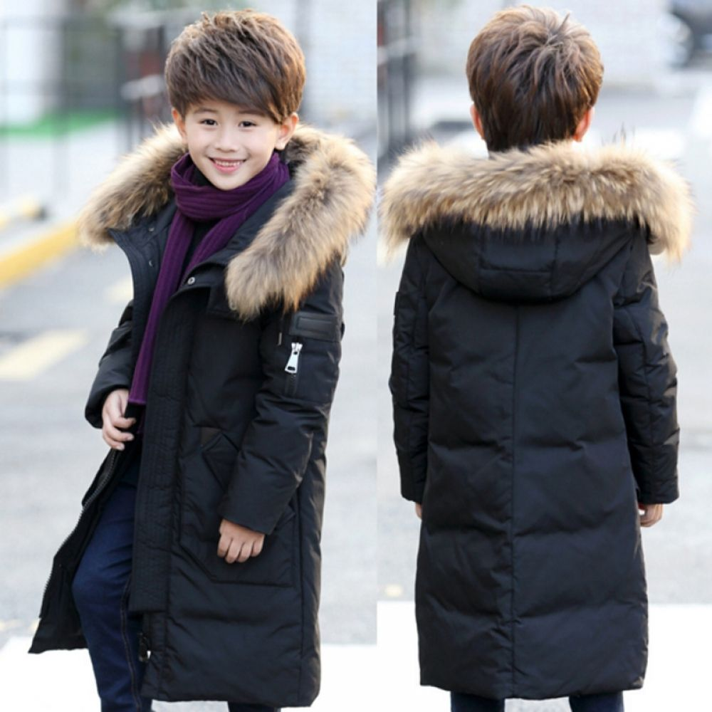 f24ba6c2a 30 Degree Russia Winter Boys Down Jackets Kids Clothes Children Warm ...