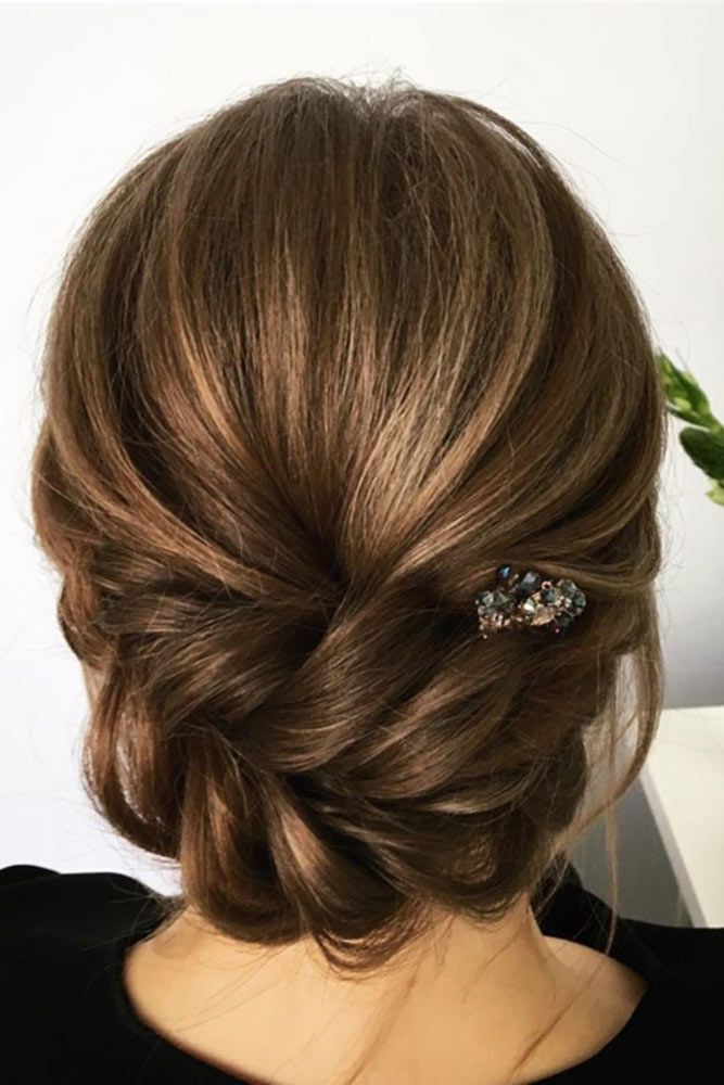 36 Wedding Hairstyles For Medium Hair | Wedding updos ...