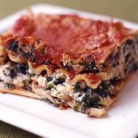 Two Cheese Vegetable Lasagna
