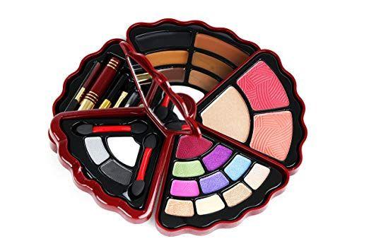 BR- All in one Makeup Set - Eyeshadows, Blush, Lip gloss and Mascara (Burgundy) #Makeup #MakeupIdeas #makeupideasburgundy  #ideasmakeup #easymakeupideas