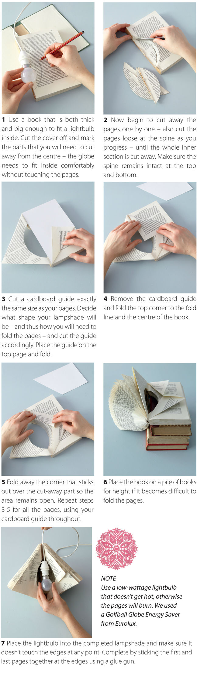 Paper lamp do it yourself 2 pinterest paper lamps craft paper lamp solutioingenieria Image collections