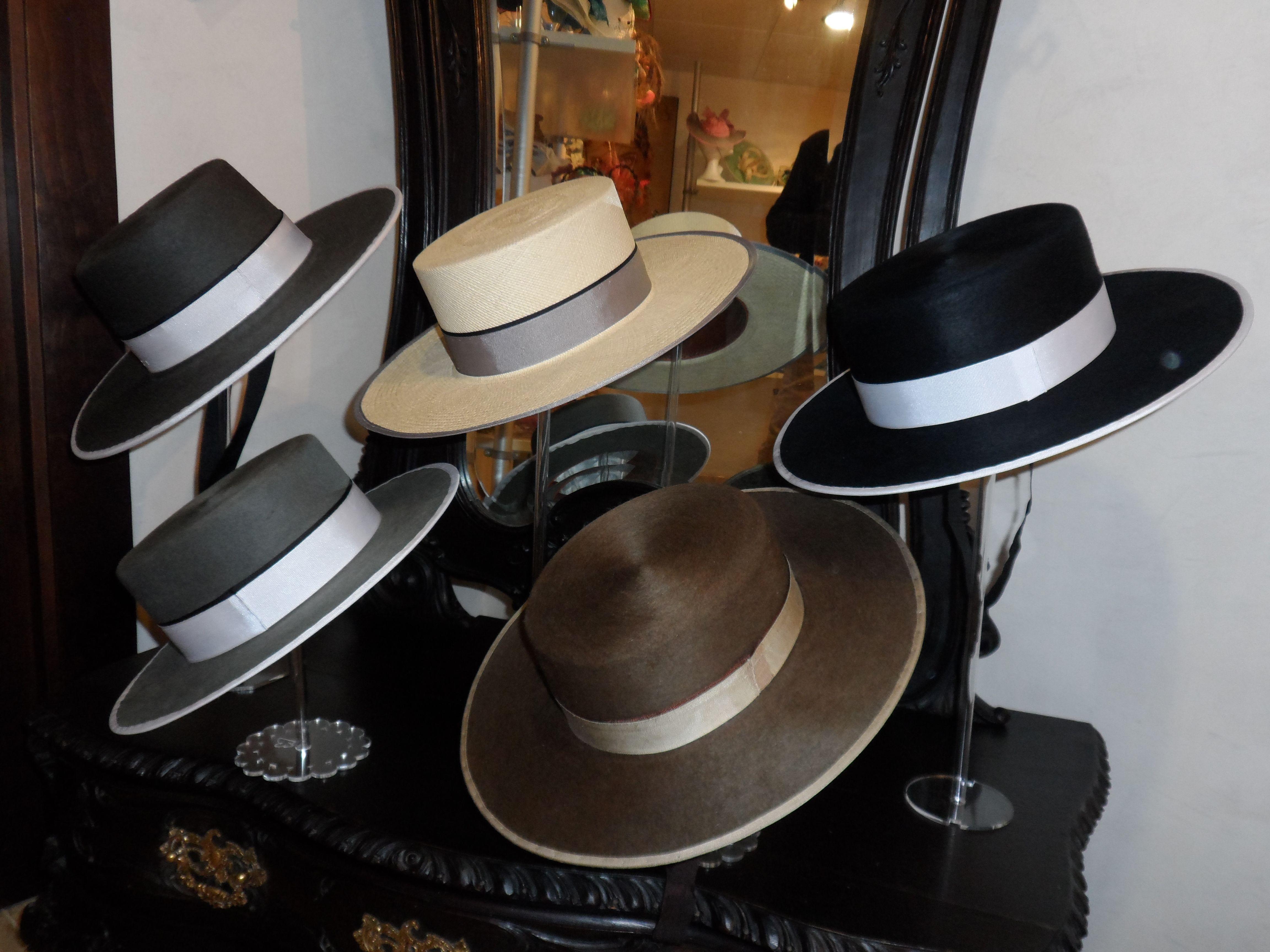 Curso De Sombrerer A Sombreros De Ala Ancha Sombrero Sevillano  # Muebles Sevillanos