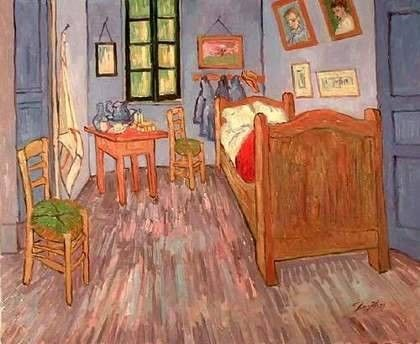 Van Gogh Canvas Oil Painting - The Bedroom