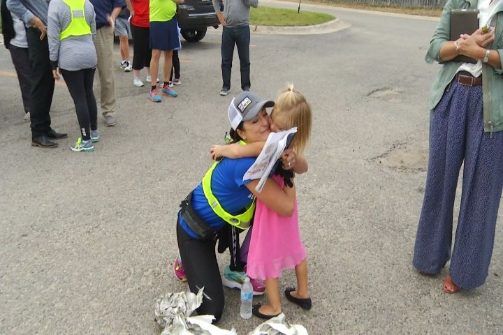 A Look Back On Michelle Dunaways 40 Mile Walk Benefiting The Ronald McDonald House