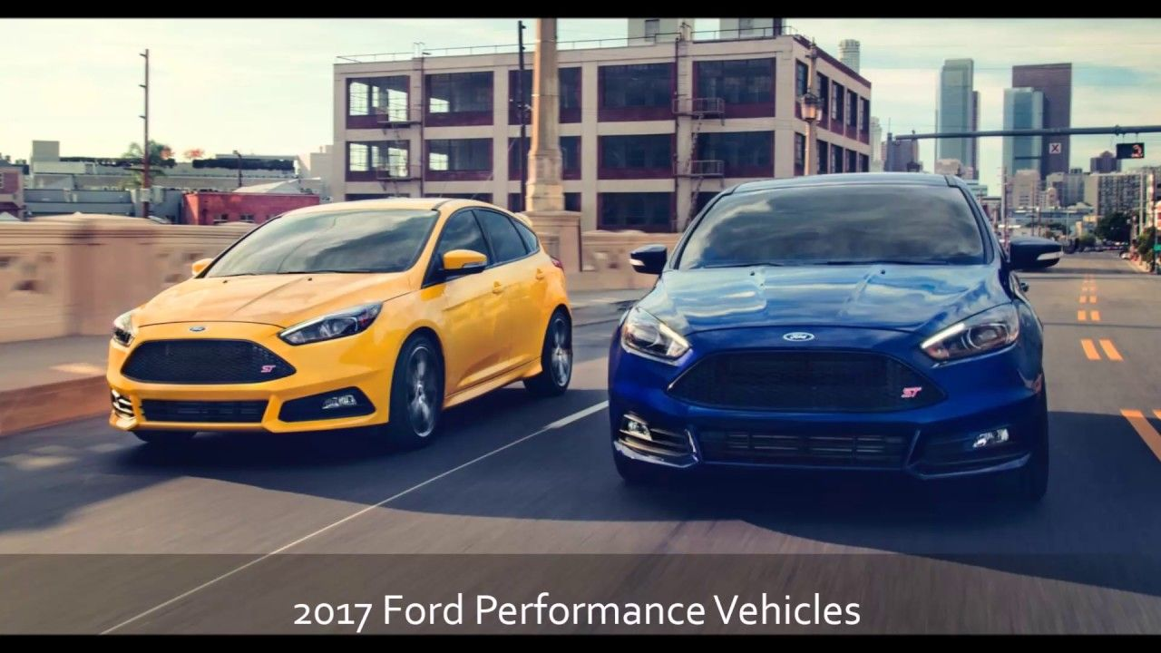 2017 ford performance vehicles at phil fitts ford serving