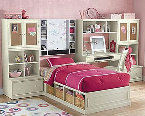 Girls Rooms Storage Ideas The Picture Of Bedroom Storage Ideas To Create A Space In S Dormitorios Ideas