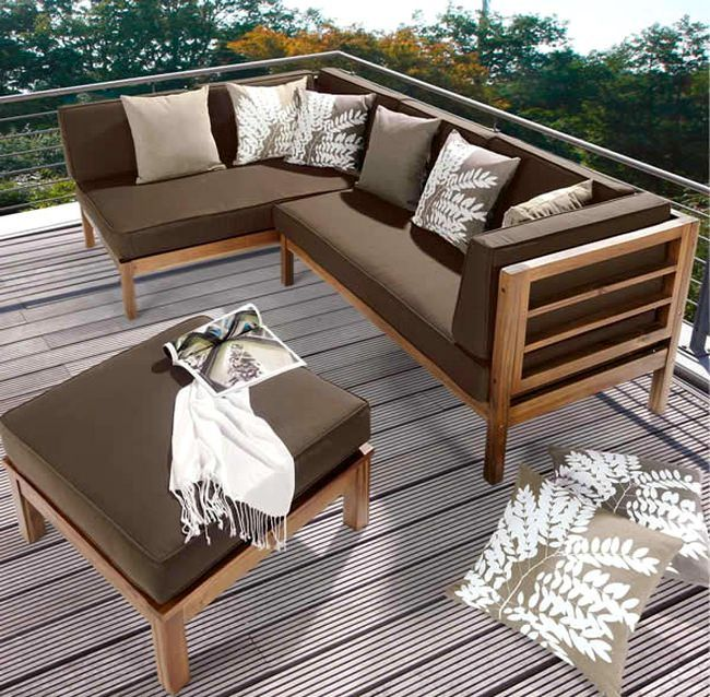 ahsap-balkon-teras-koltuk-takimi #smallbalconyfurniture