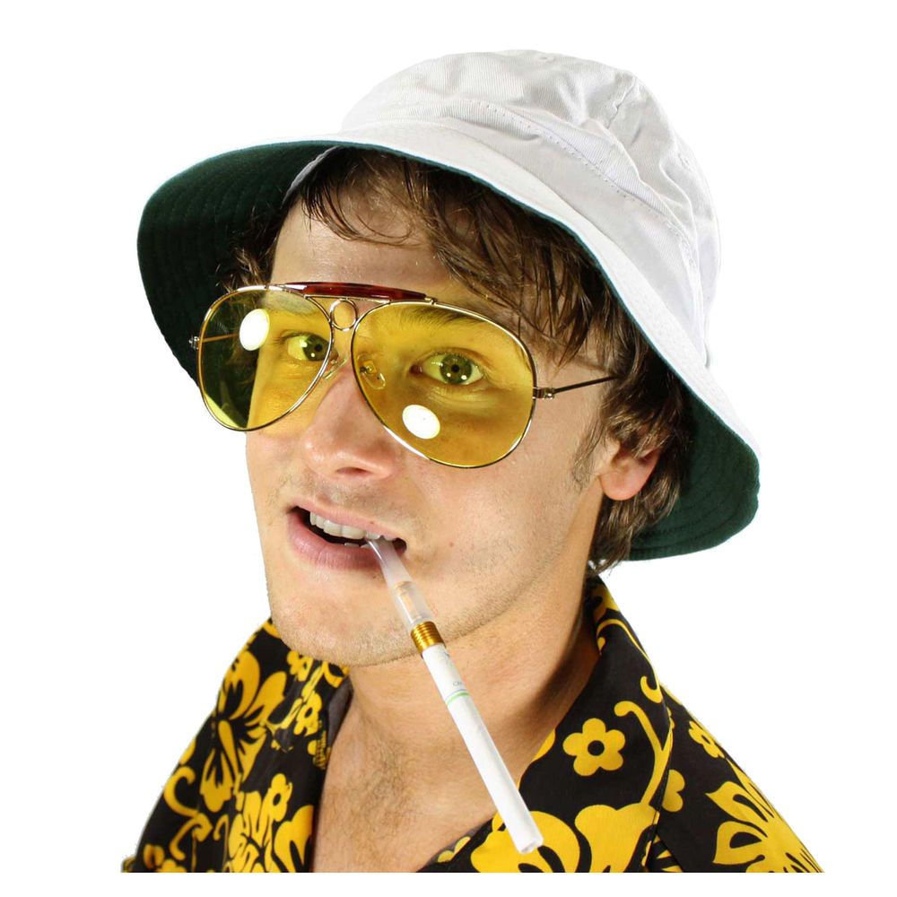 Fear And Loathing In Las Vegas Hunter S Thompson Costume Sunglasses