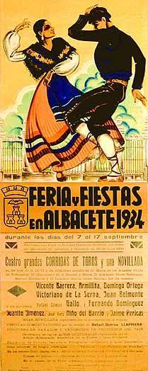Cartel Feria Albacete 1934