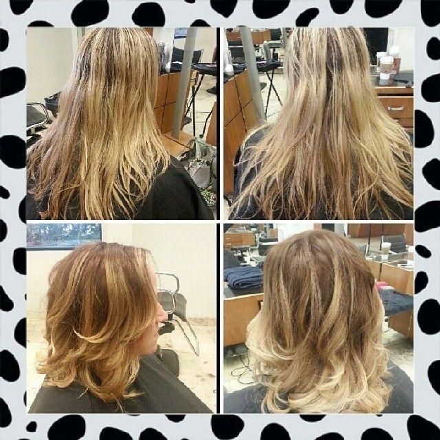 A #byMario haircoloring by #MarioTricociArlingtonHeights colorist Courtney. #MarioTricoci #ChicagoSalon #ChicagoSpa