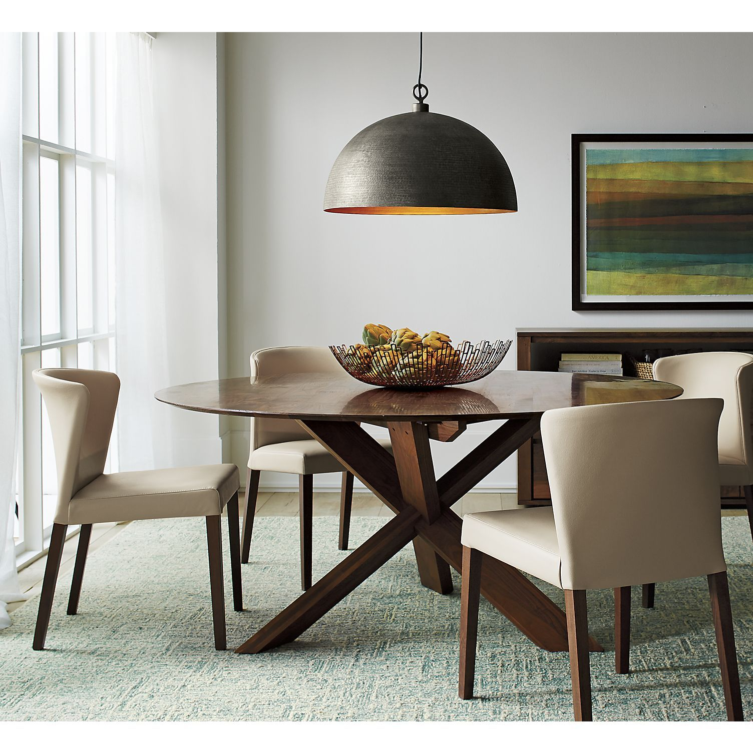 Apex 64 Round Dining Table In Apex Collection Kitchen Table Settings Low Back Dining Chairs Round Dining Table