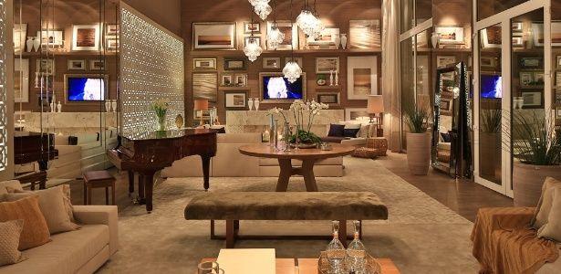 Casa Cor PR apresenta salas e quartos aconchegantes; inspire-se