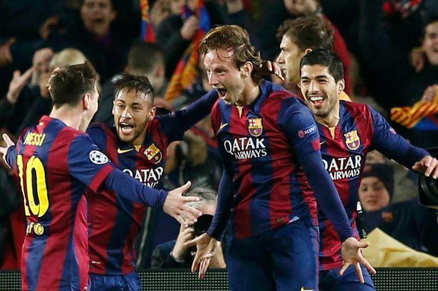 UEFA Champions League final 2015 barcelona vs juventus. Following the first goal by Ivan Rakitic