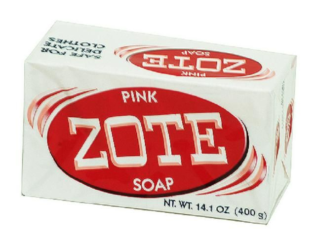 Product review of Zote Laundry Soap Bar for stain removal and making homemade laundry detergent.