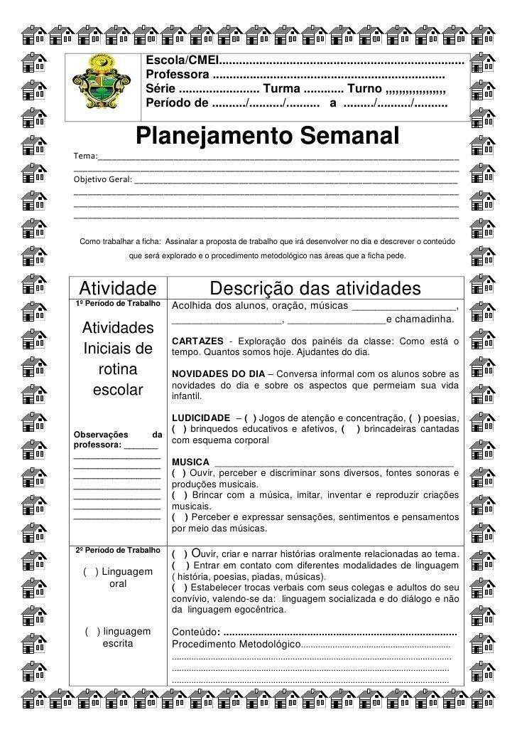Inicio Planos De Aula Infantis Relatorios Educacao Infantil