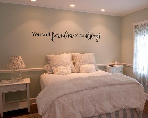 You will forever be my always vinyl wall decal - wall sticker ...