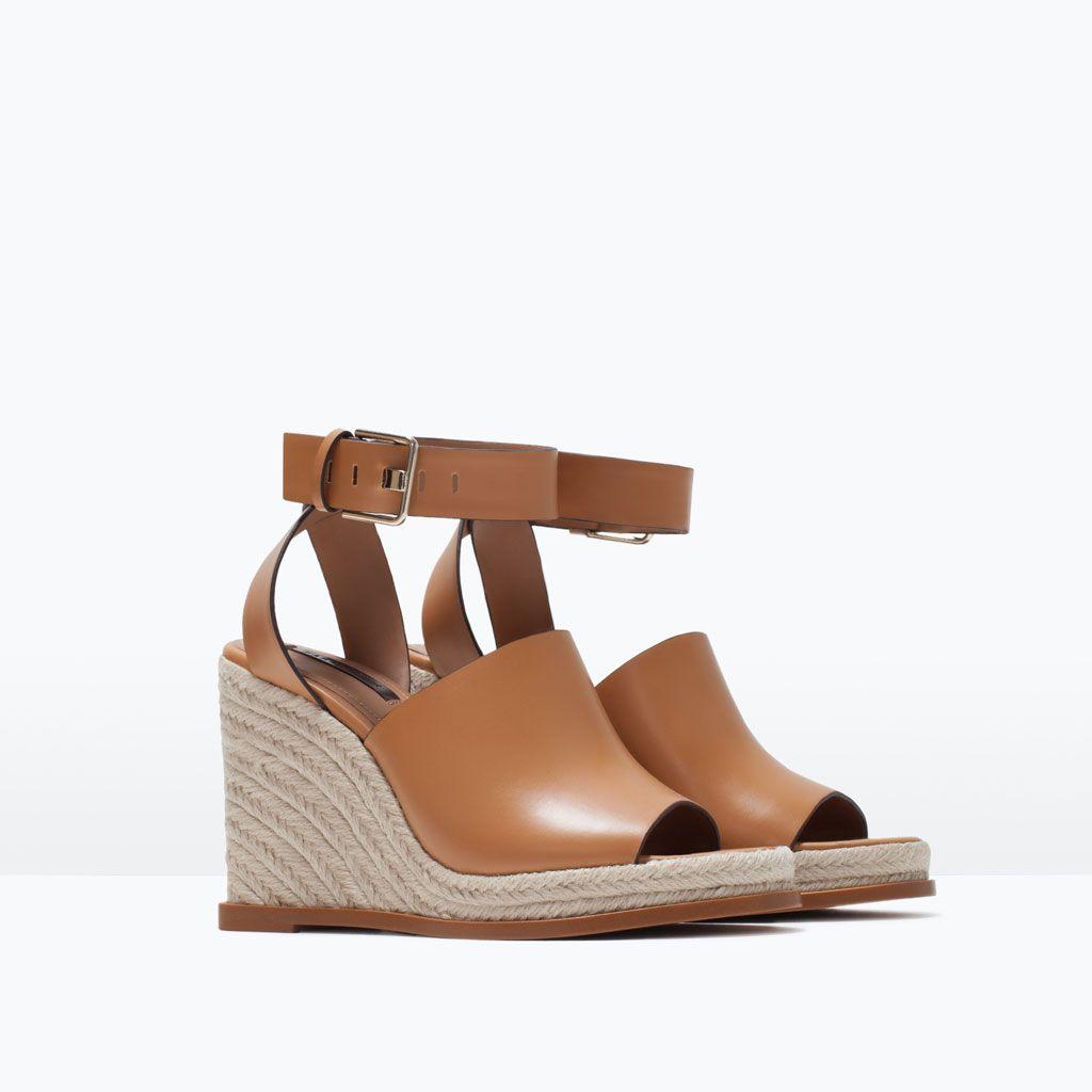 Zara Pinterest Pulsera amp; Shoes Cuña Bags Sandalias Ow47qR