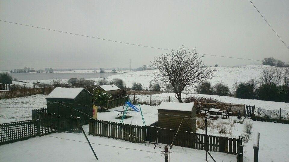 Winter Wonderland back garden