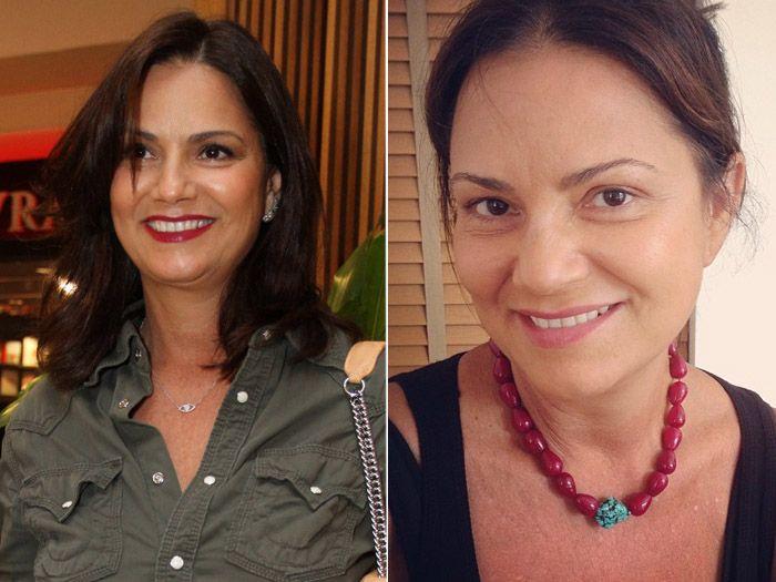 Atrizes Sem Maquiagem Pesquisa Google Celebridades Luiza Brunet