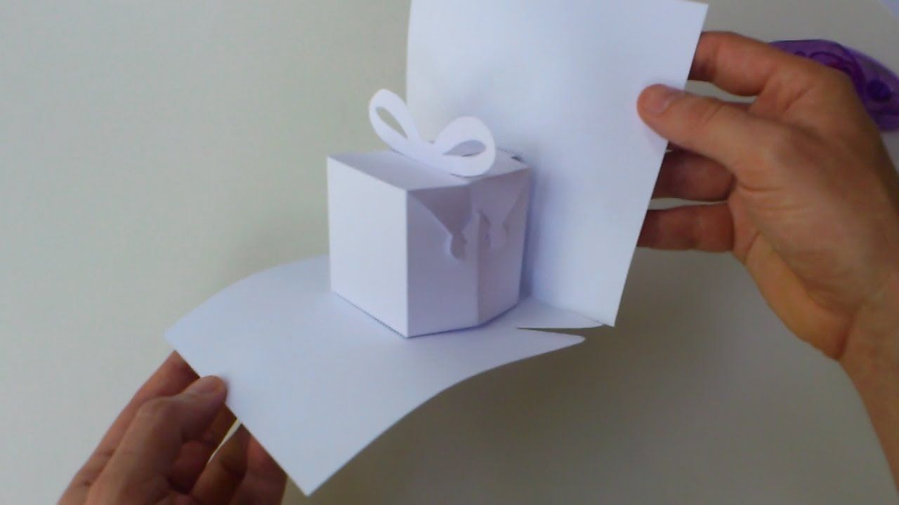 Instructions Blank Manual Cutting Template For Birthday Present