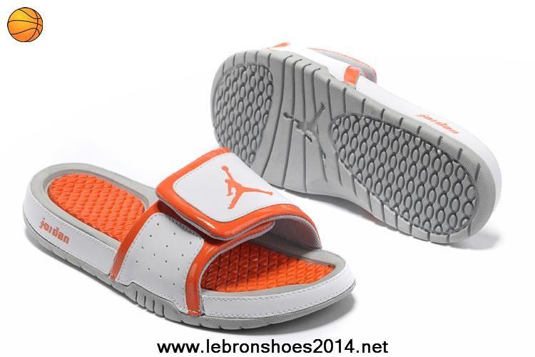 7fbab34b3bba Authentic Nike Jordan Hydro 2 Slide Sandal White Orange